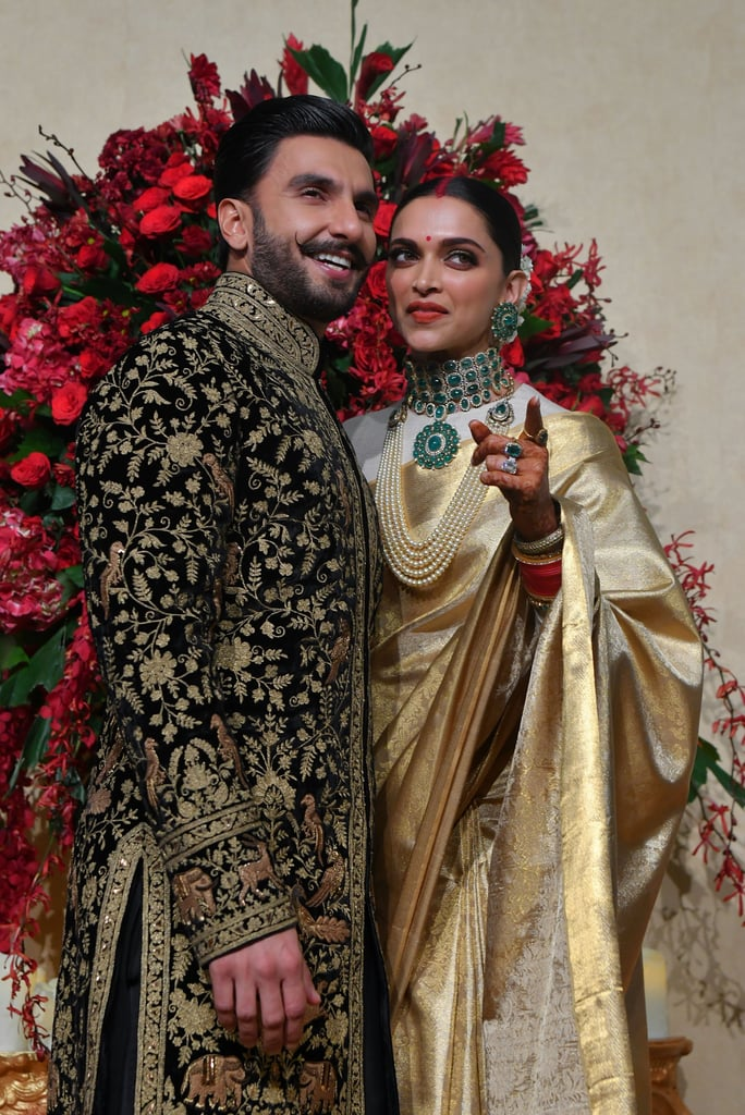 Deepika Padukone's Wedding Dress | POPSUGAR Fashion ...