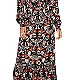 Weslee Rose Long-Sleeve Button-Front Maxi Dress ($86)
