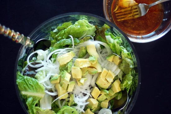 Green Salad With Red Wine Vinaigrette