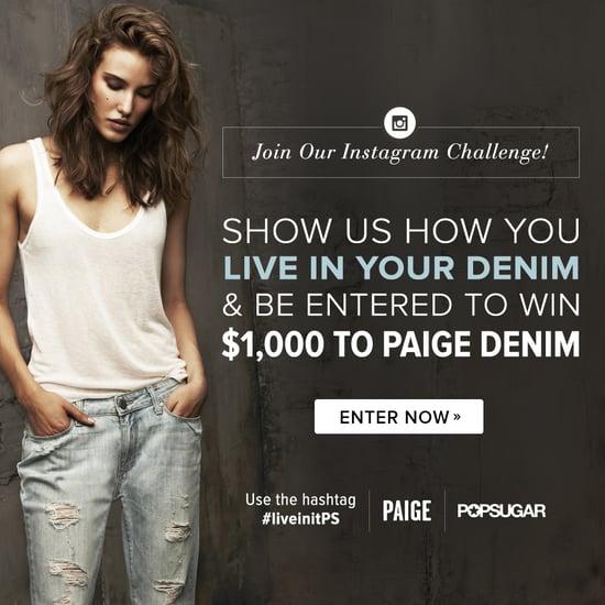 Paige Denim Instagram Challenge