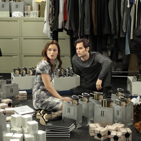 Gossip Girl Dan Humphrey and Blair Waldorf Gifs