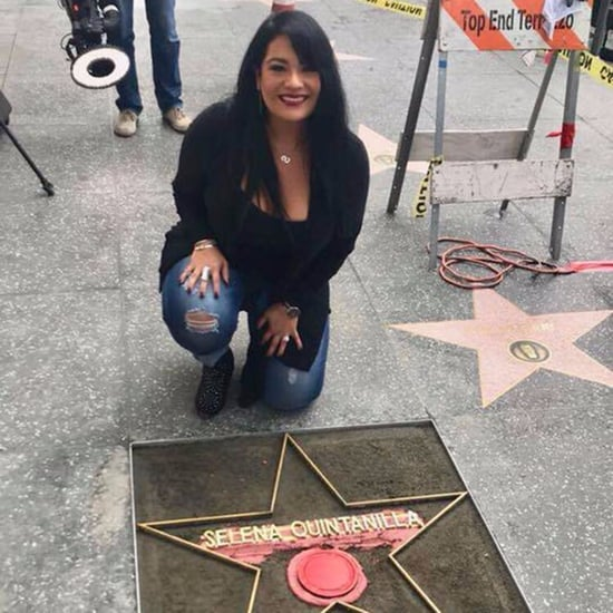 Selena's Sister Placing Hollywood Walk of Fame Star