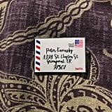Kavinsky Letter Pin