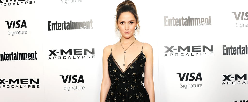 Rose Byrne Valentino Dress X-Men Apocalypse Screening 2016