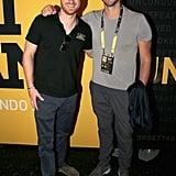 Harry and Ian Thorpe