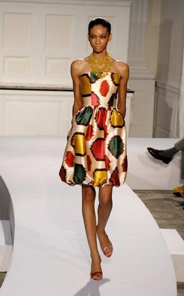 New York Fashion Week, Spring 2008: Oscar de la Renta