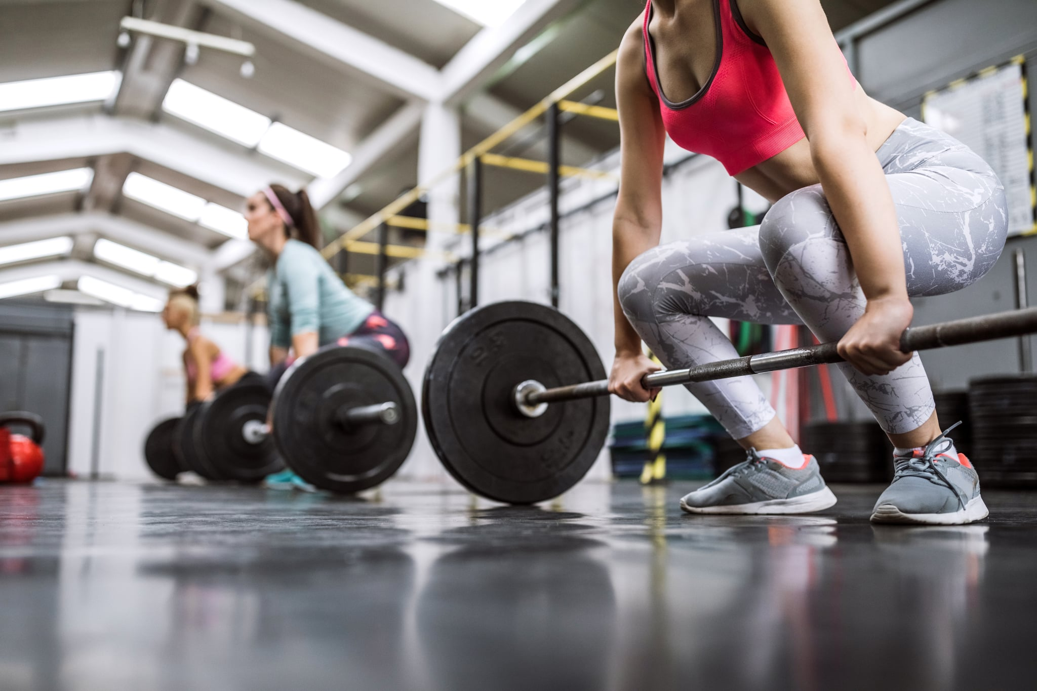 Lifting Heavy Weights On Cross Training In Gym
