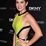 Nikki Reed in a sexy cutout dress.