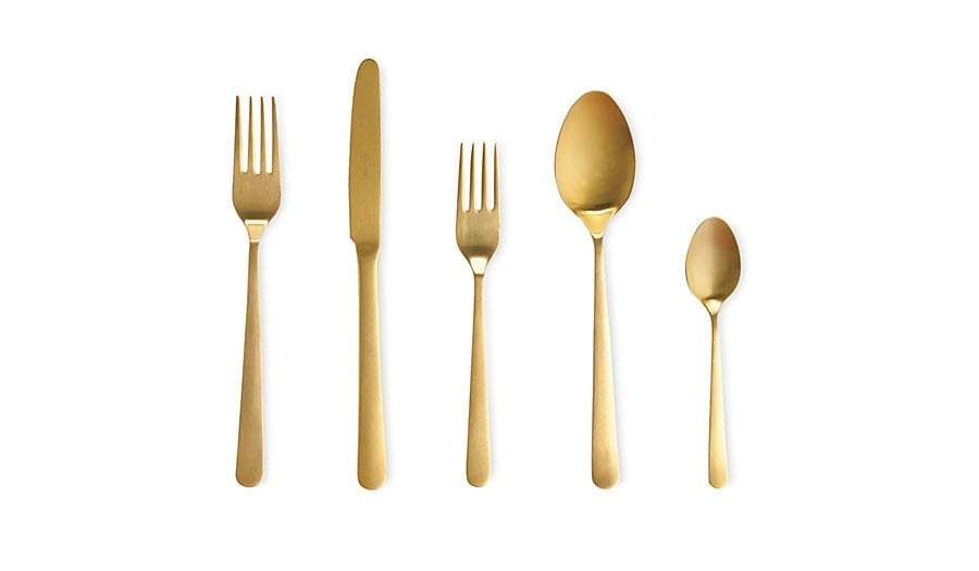 Gift your hostess friend this Almoco Flatware ($30-$50 for a set of five) to stash for special occasions.