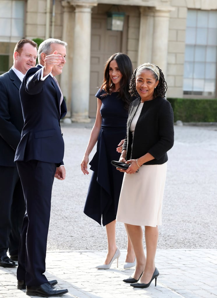Meghan Markle and Doria Ragland Arriving at Cliveden House