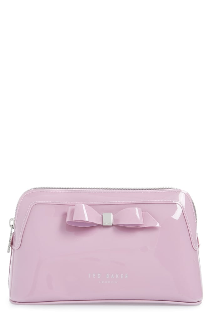 Ted Baker London Cahira Bow Cosmetics Case