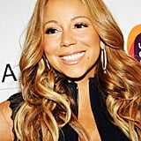 Mariah Carey looked happy at the Project Canvas Exhibition & Art Gala in NYC.