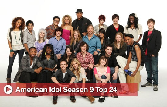 American Idol Season 9 Top 24 Contestants Revealed 2010-02-18 08:45:59