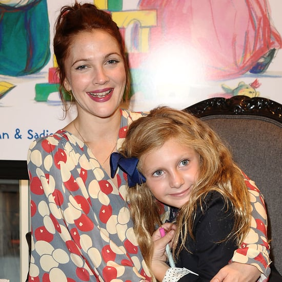 Drew Barrymore at Book Party With Will Kopelman's Family