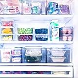 Khloé Kardashian's Organized Refrigerator