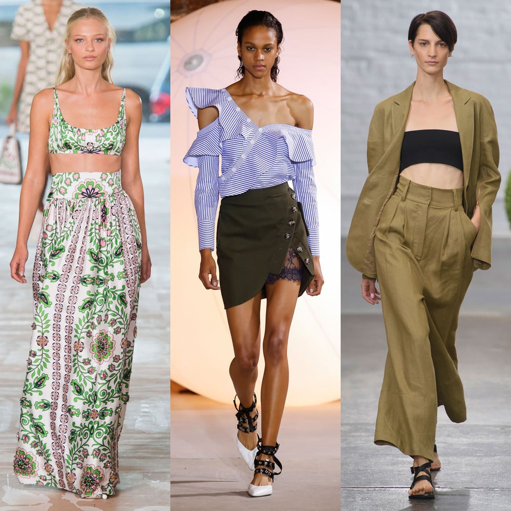 Spring 2017 Runway Trends New York Fashion Week