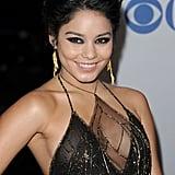 Vanessa Hudgens had dangling earrings on the red carpet.