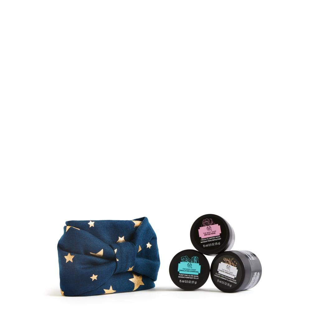 The Body Shop Mini Face Masks and Star Headband