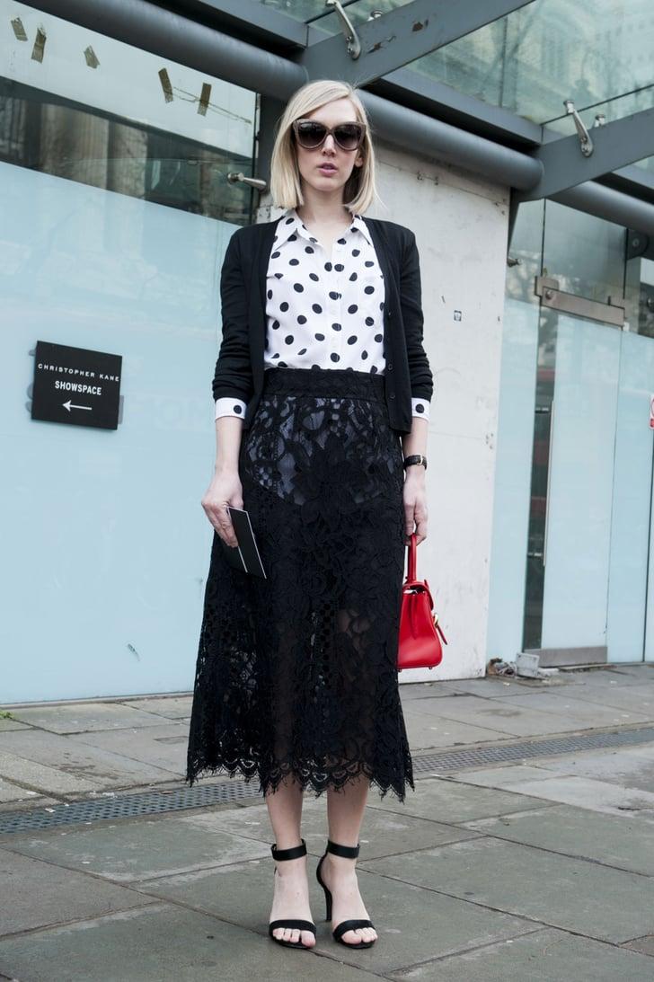 Lfw Street Style Day Four Best Street Style At London Fashion Week Fall 2014 Popsugar