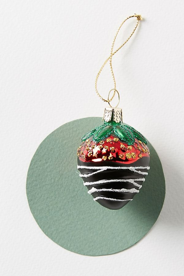 Chocolate-Dipped Strawberry Ornament