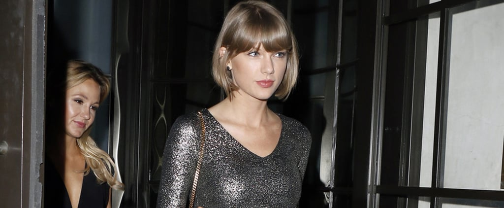 Taylor Swift Was Dressed to Take the Stage at the Calvin Harris Concert