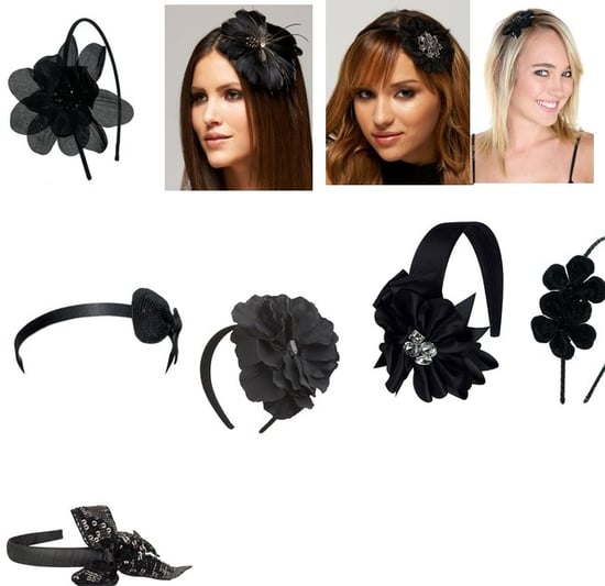 Dazzling Black Headbands