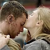 Elizabeth Olsen and Aaron Taylor-Johnson in Godzilla