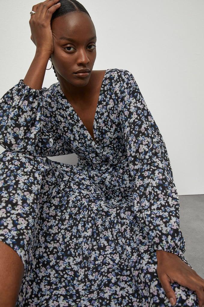 H&M Long Wrap Dress