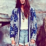 Add warmth and a vintage-cool vibe to your cutoffs with this Flower Power Cardi ($168).