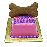 Treat your pup to a birthday bash with this pink birthday cake.