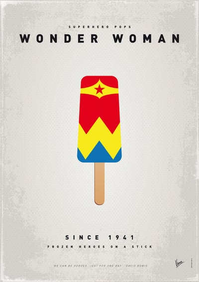 My Superhero Ice Pop: Wonder Woman ($18 to $55)