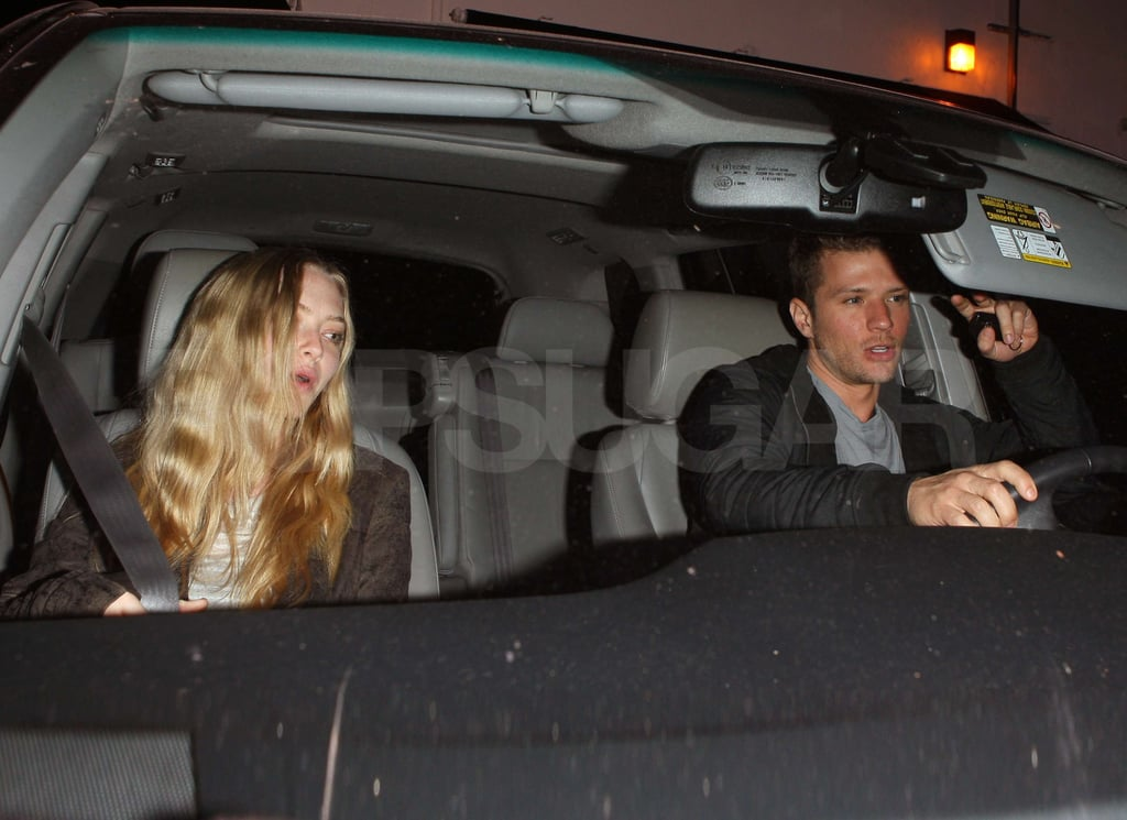 Pictures of Amanda Seyfried and Ryan Phillippe Reunited in LA