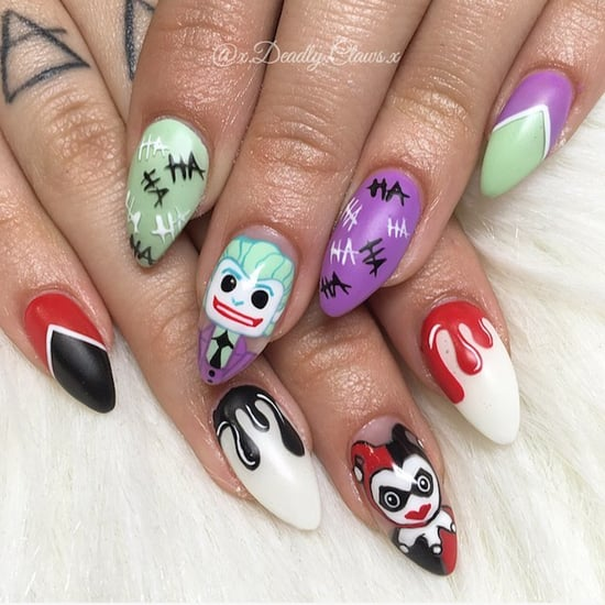 The Joker Nail Art