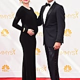 Sophie Flack and Josh Charles at the 2014 Emmy Awards