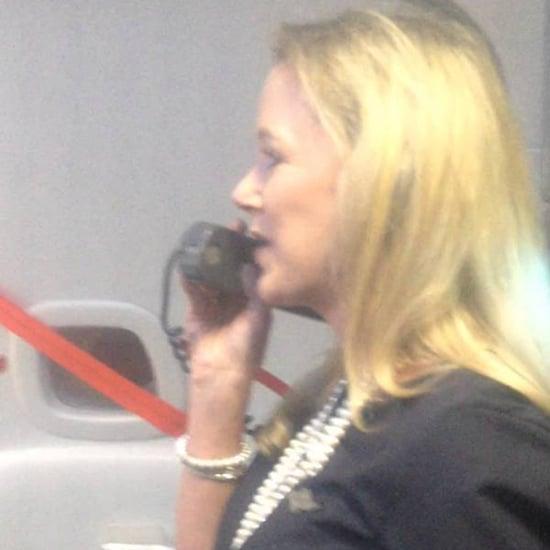 Southwest Flight Attendant's Flight-Safety Speech | Video