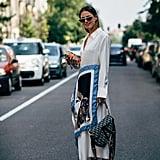 Zina Charkoplia with a Dior bag.