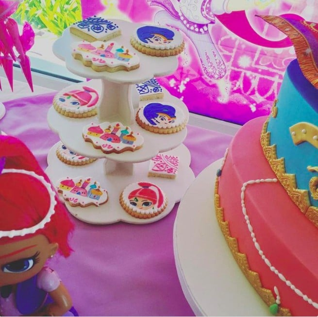 Shimmer And Shine Party Ideas Popsugar Family
