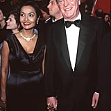 Pictured: Shakira Caine and Michael Caine