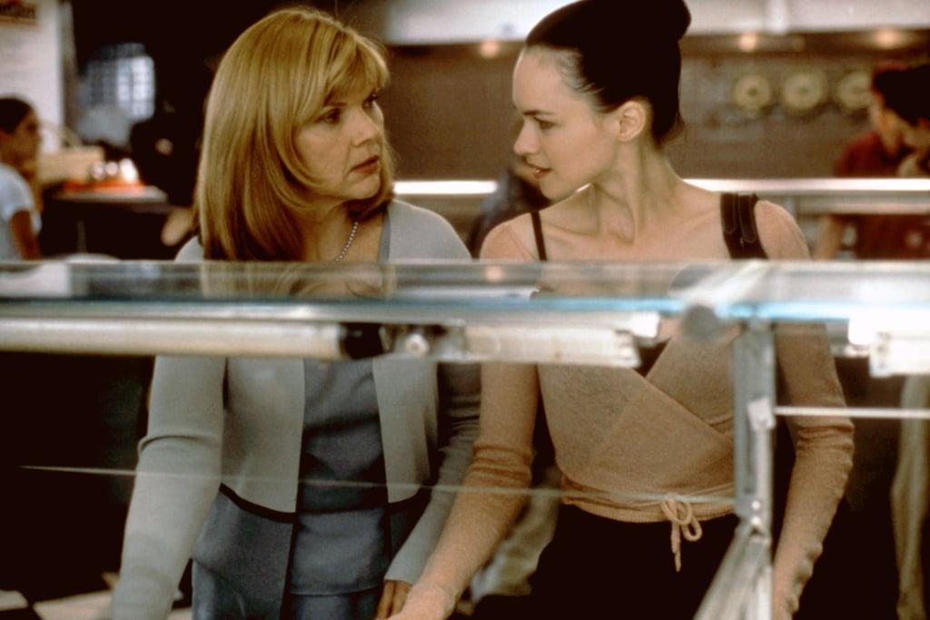 Susan May Pratt (right) as Maureen Cummings