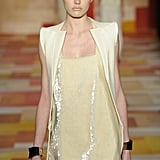 A look to mimic from Tufi Duek: soft sequins mean they work through the seasons, not just around holidays.
