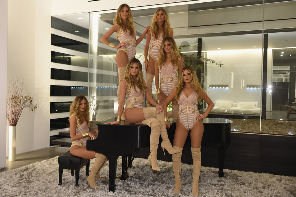 The Luxe NYC Pad Where Heidi Klum and Her Doppelgängers Got Halloween Ready