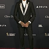 Quavo at Clive Davis's 2020 Pre-Grammy Gala in LA