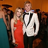 Emma Roberts and Evan Peters cuddled up at the Fox after paty.