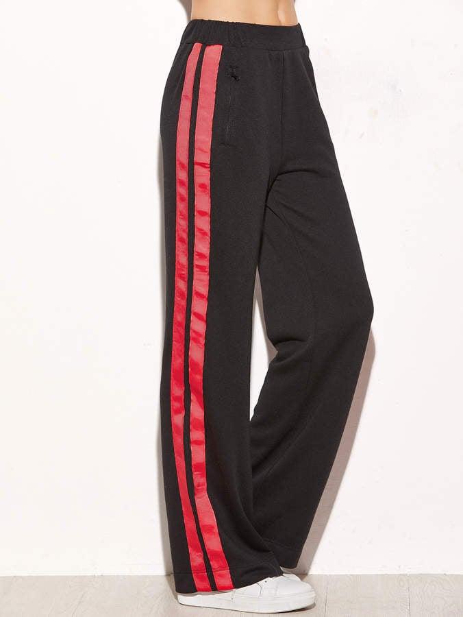 Shein Side Striped Pants