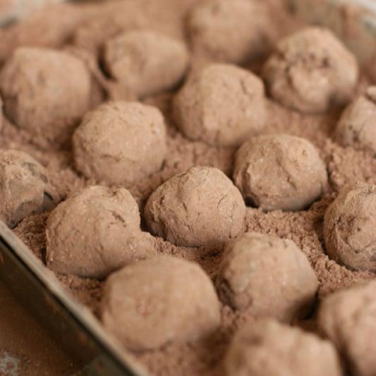 Classic Dark Chocolate Truffles