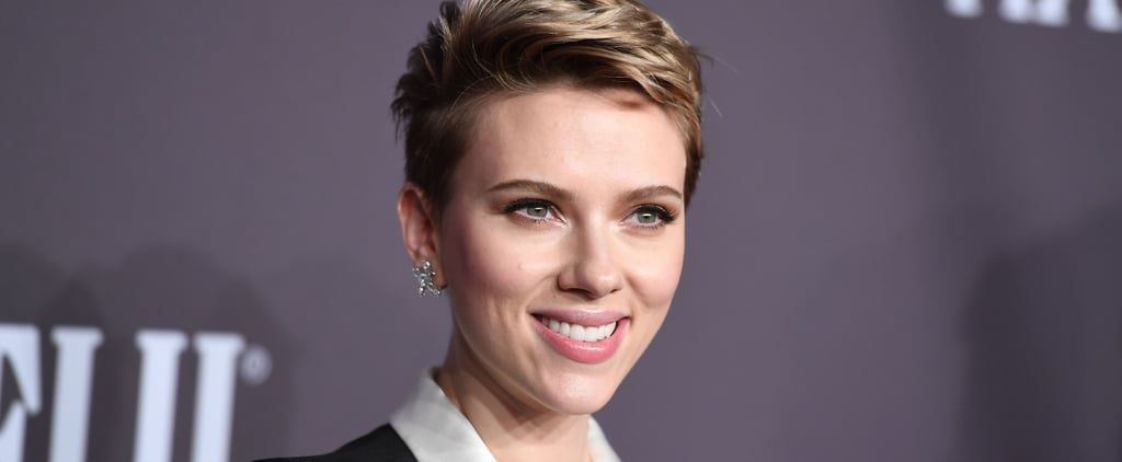 Scarlett Johansson Makes Her First Red Carpet Appearance Since News of Her Split