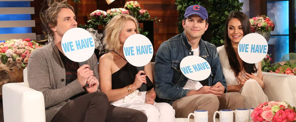 "Kristen Bell and Mila Kunis Play a Special Edition of ""Never Have I Ever"" With Their Husbands"