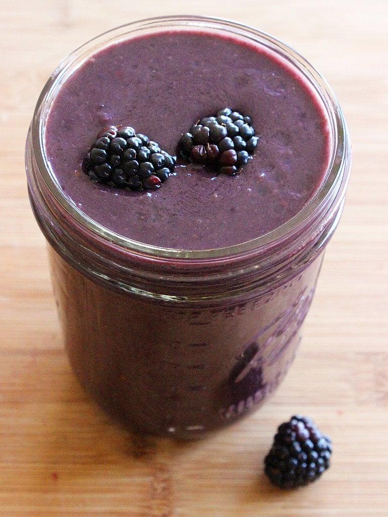 Blackberry Breakfast Smoothie