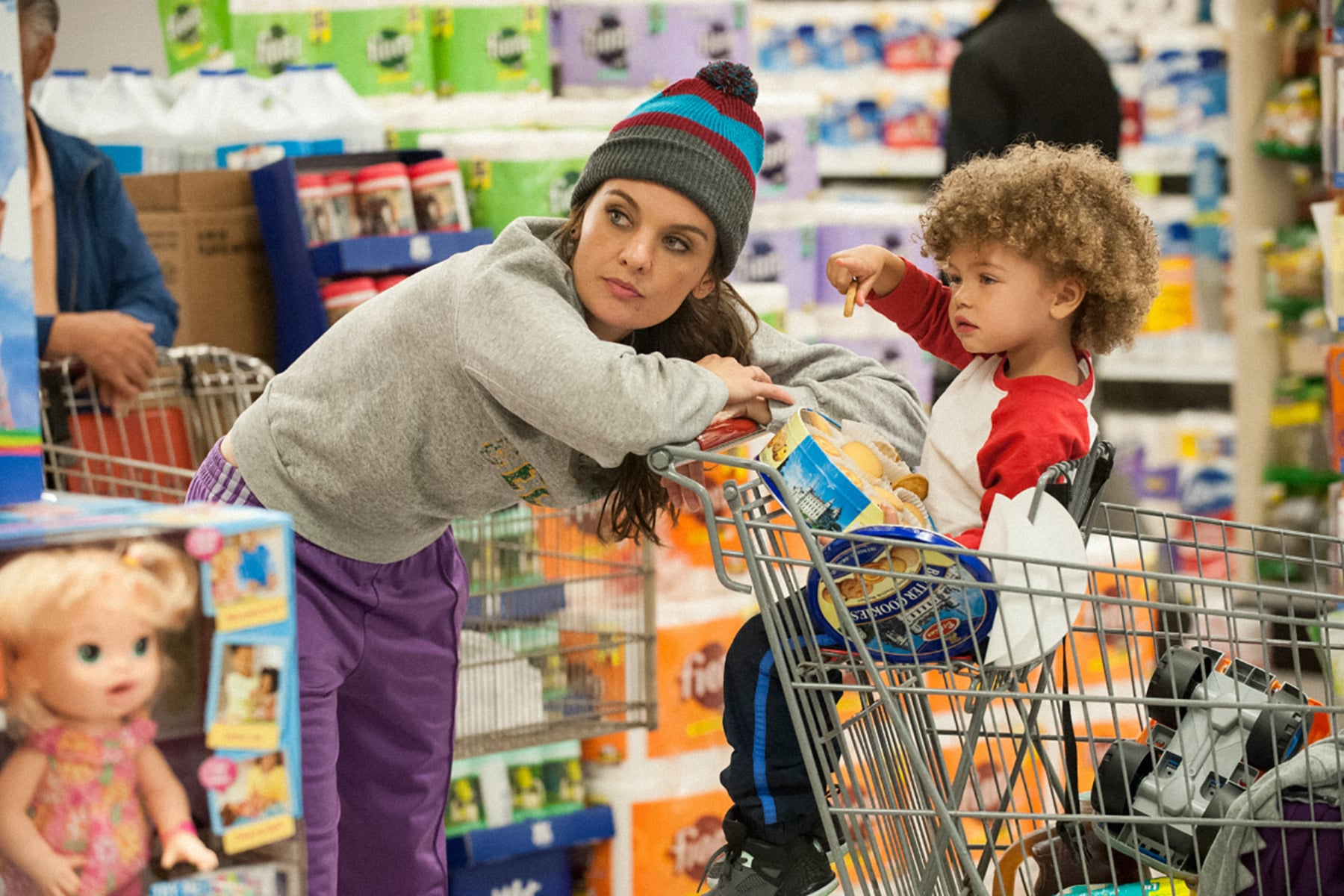 SMILF, Frankie Shaw, Alexandra/Anna Reimer in '1800 Filet-o-Fishes and One Small Diet Coke', (Season 1, Episode 102, aired November 12, 2017), ph: Lacey Terrell / Showtime / courtesy Everett Collection