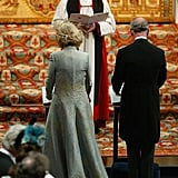 """Charles and Camilla were blessed by the Archbishop of Canterbury during the Service of Prayer and Dedication at Windsor Castle. The Queen and Prince Philip chose not to attend the civil marriage; it was reported that because the Queen """"does take her role as Supreme Governor of the Church of England very seriously,"""" she felt it would """"be inappropriate to attend that particular part of the wedding."""" Charles's parents did attend the religious blessing and host a reception after.  Related: How Well Do The Queen and Camilla Actually Get Along?"""
